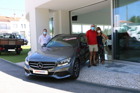 Mercedes-Benz C 200d Station de 2018