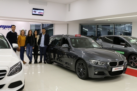 BMW 318d Touring Pack M Auto de 2017